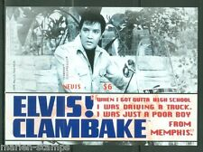 NEVIS  ELVIS PRESLEY  'CLAM BAKE'  IMPERFORATE S/S IV SCOTT#1568  MINT NH
