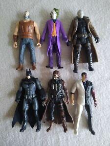 Dc multiverse 3.75 lot, Bane, Joker, Hush, Batman, Two-face