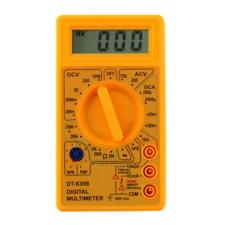 Digital LCD Multimeter AC/DC 750/1000V Amp Volt Ohm Circuit Checker Tester Meter