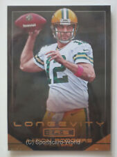 AARON RODGERS  - Panini Rookies and Stars 2014 #76 LONGEVITY Gold Parallel