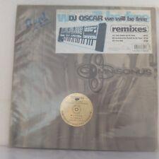 """DJ Oscar–We Will Be Free (Remixes) (Vinyl 12"""" Maxi 33 Tours)"""