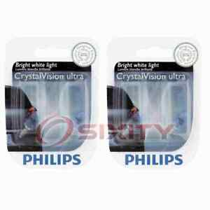 2 pc Philips Front Side Marker Light Bulbs for Chevrolet Astro Avalanche af