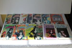 ELVIRA'S HOUSE OF MYSTERY #1 2 3 4 5 6 7 8 9 10 + Special Claypool DC COMIC LOT