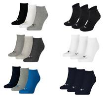 Puma 3 Pairs Ankle Socks Men Women Cotton Rich Quarter Sports Socks