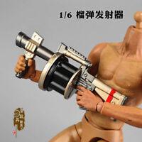 1/6 Weapon Toy Grenade Launcher Howitzer Model Fit 12'' Solider Figure
