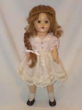 "15"" Vintage Unmarked Hard Plastic Doll"