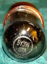 Vintage Slyvania  5Y3WGTA Vacuum Tube 3Mica  Balanced 1860/1800