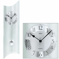 Relojes de pared AMS color principal blanco