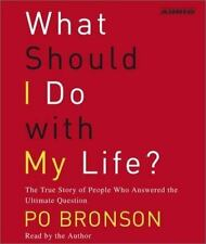 What Should I Do with My Life? by Po Branson,  5 CD Audiobook - Like New