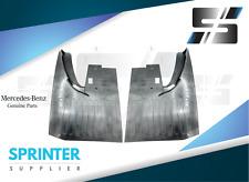 Mercedes Sprinter 2000 - 2006 GENUINE OEM MUD FLAPS SPLASH GUARDS SET front/back