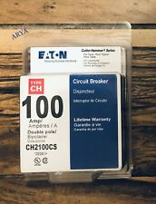 Eaton 100 Amp Double Pole Ch2100Cs Ch2100 Circuit Breaker