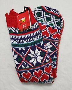 Joe Boxer Soft Cozy Moccasin Knit Slipper Socks - Women's Shoe (4/10)
