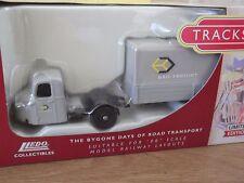 Lledo Trackside DG148009, Scammell Scarab Box Trailer, Rail Freight - c.230/4200
