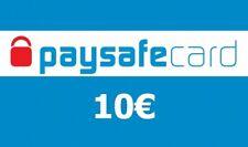 Paysafe Card Guthaben 10€ Voucher Ladebon Gutscheincode - Elektronischer Versand