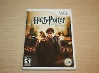 Harry Potter and the Deathly Hallows: Part 2 (Nintendo Wii, 2011) CIB Complete