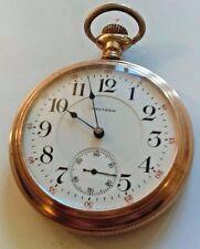 Antique 1904 Waltham 23 Jewels Vanguard Railroad Grade Pocket Watch - Size 18
