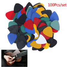 100PCS Acoustic / Electric Guitar Pick and Free Glass Guitar Slide