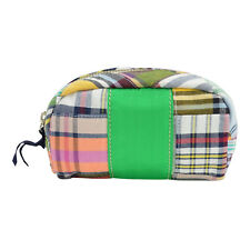 Nwt J. Crew Cosmetic Case Coin Pouch Bag in Plaid