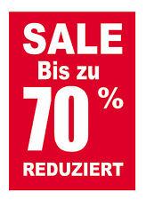 "Plakat /""SALE SALE SALE 2/"" Räumungsverkauf SALE Reduziert  Alles muss raus DIN A1"