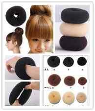 Fashion Woman Hair Doughnut Bun Ring Shaper Donut Style Updo