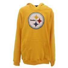 Kids Youth Size Pittsburgh Steelers NFL Football Hooded Sweatshirt New With Tags