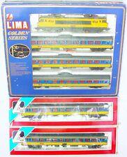 Lima HO 1:87 Dutch NS 1605 Electric Locomotive + 5 INTERCITY Passenger Wagon MIB
