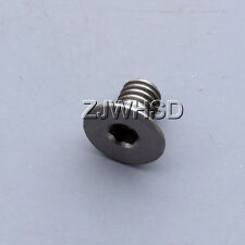 M4 x 6 Titanium Ti Screw Bolt Allen Hex Socket Flat Head Aerospace Grade Bicycle