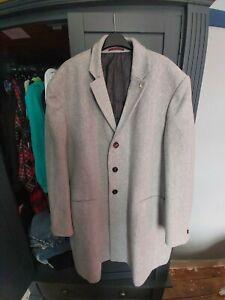 Mens Burton Overcoat 4XL Grey