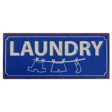 """IB Laursen Metallschild """"Laundry"""" Dekoschild Blechschild Vintage Look Schild"""