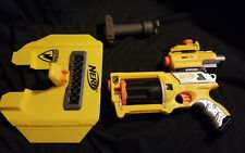 Nerf N-Strike Maverick Rev-6 Yellow With Scope And Other Accessories. No Darts