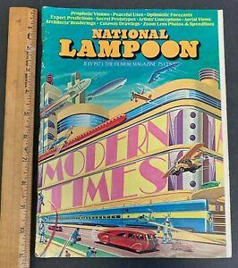 VINTAGE JULY 1973 NATIONAL LAMPOON HUMOR MAGAZINE VOLUME 1 #40 61821