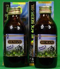 HEMANI BLACK SEED OIL 100% PURE NIGELLA SATIVA PACK OF 2 NEW AND EXCLUSIVE