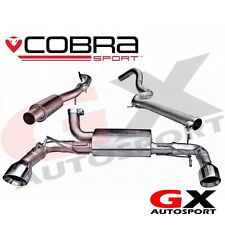 ft10 cobra sport fiat abarth 500 cat back exhaust (guochi)