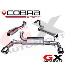 Ft10 Cobra Sport Fiat Abarth 500 Gato posterior de escape (eco)