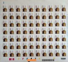 2015 EXPO Mascotte - Italia - foglio con codice a barre 1673