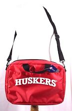 Huskers University of Nebraska Padded Laptop Briefcase Bag Licensed Collegiate