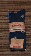 NEW Mens Levi's 5 Pack Regular Cut Socks Shoe Size 8-12