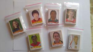 PANINI Women WC Germany 2011 take 10 stickers MINT !!!