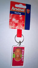 Arsenal Keyring Thierry Henry picture, New,unused, official