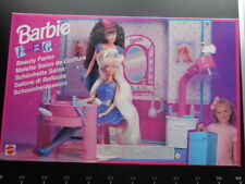 Mattel Dream House Beauty Parlor Salon Fun Go Super Star Arco Barbie 67421