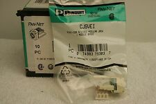 Panduit CJSVEI Mini-Com S-Video Modular Jack *NEW Box of 10*