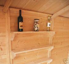 Kit mensole in abete perlinato per casette garage box
