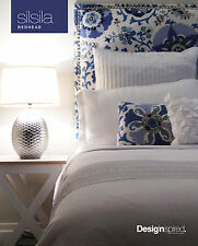 SILSILA Upholstered Bedhead / Headboard for Queen Ensemble - Indian Sea