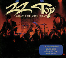 ZZ TOP  what's up with that  / CD SINGLE + 2 LIVE TRACKS
