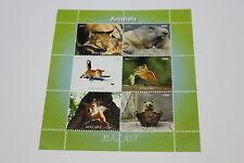 FOGLIETTO ANIMALI MALAWI ANNO 2011 ANIMALS