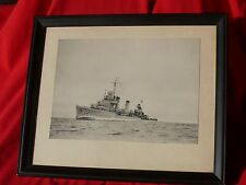 Orig Pre WW2 Photo WW2 Destroyer GLEAVES DD-423 U-Boat Hunter Anzio D-Day More