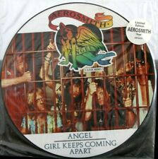 "EX/EX! AEROSMITH - ANGEL 12"" vinyl Picture Pic Disc"