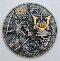 Niue - 2019 - Samurai Warriors - High Relief - 2 Oz - Silver Coin