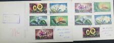 O) 1958 INDONESIA, FLOWER-SCOTT SP52-MICHELLA-SUNFLOWER-JASMIN-ORCHID, TO USA- 2