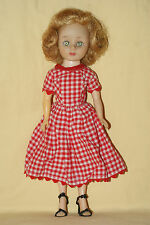 "Pretty 10"" Vintage American Character Toni Doll"